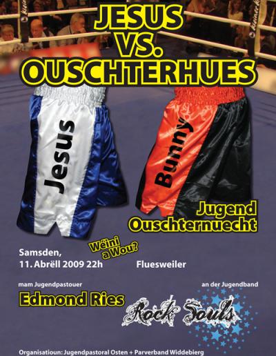 Jesus vs. Ouschterhues